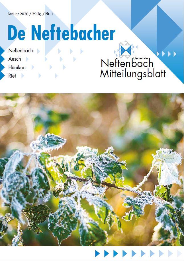 Titelblatt Mitteilungsblatt Januar 2020