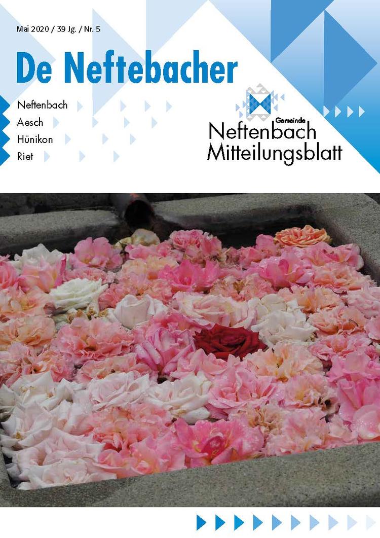 Titelbild Neftenbacher Mai 2020